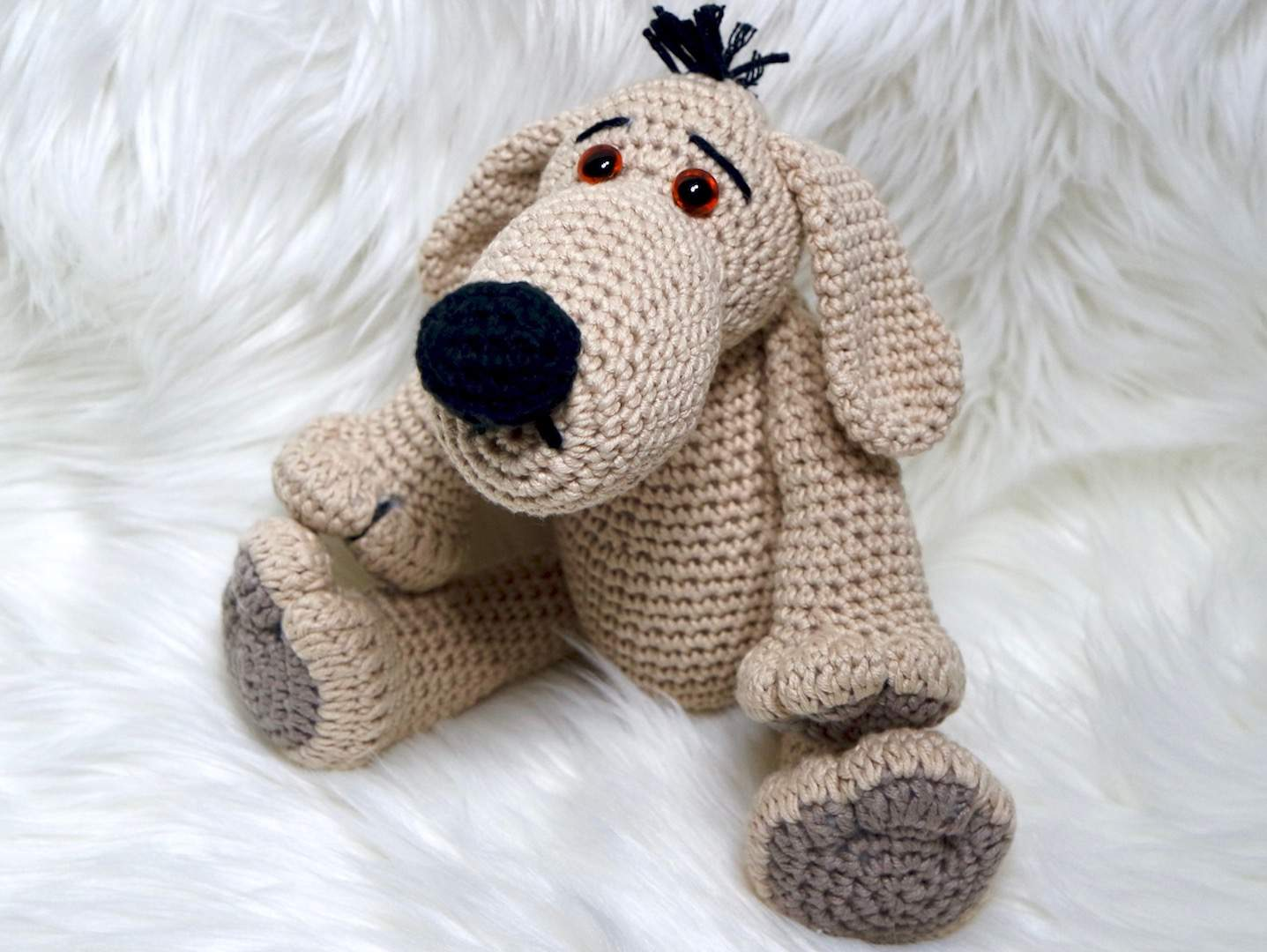 Schlüsselanhänger Hund Häkeln Anleitung Hindu Tube