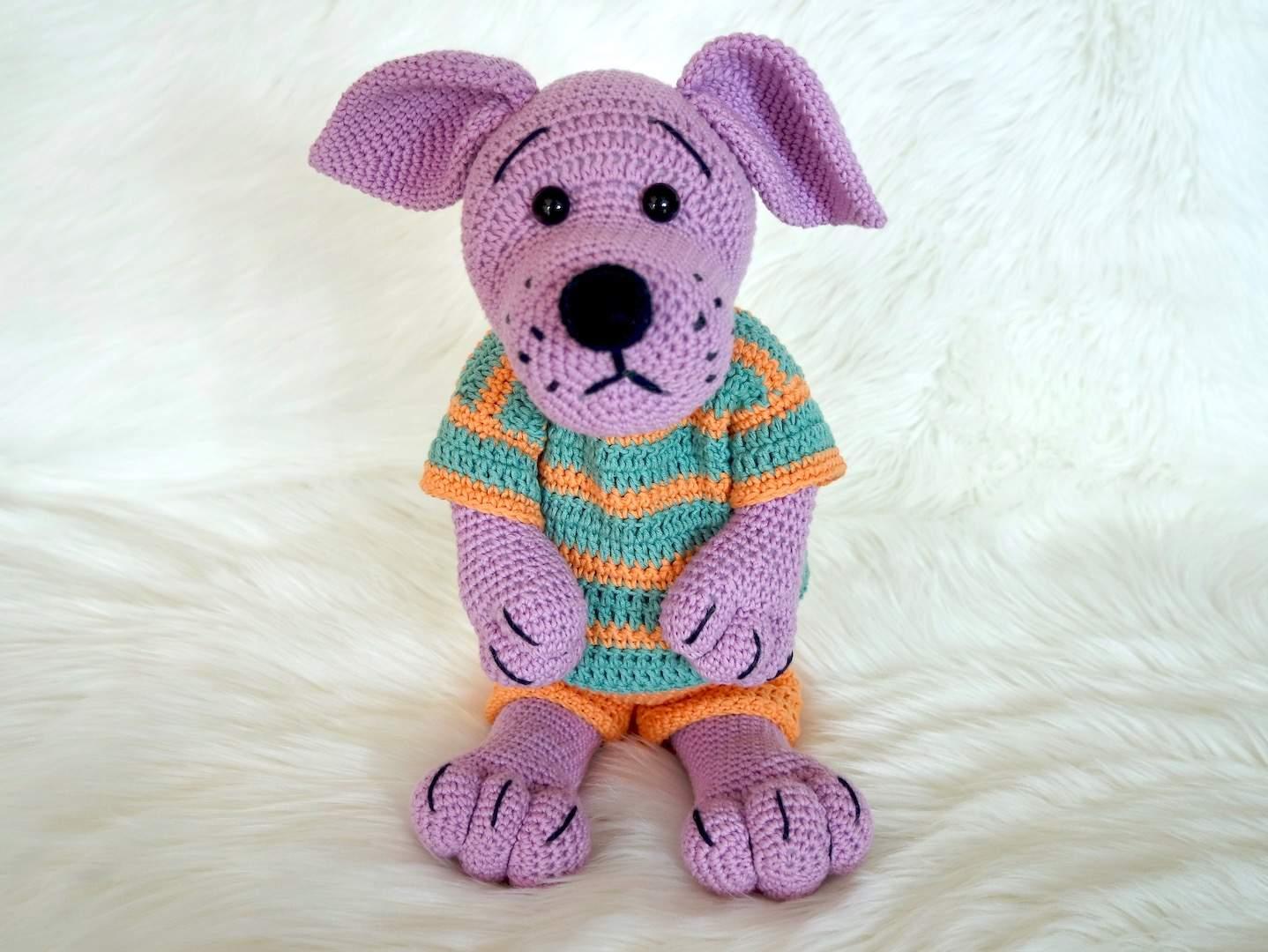 Crochet Pattern Dog Kurt Wolligurumi