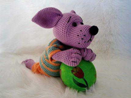 Anleitung Amigurumi häkeln Hund Kurt