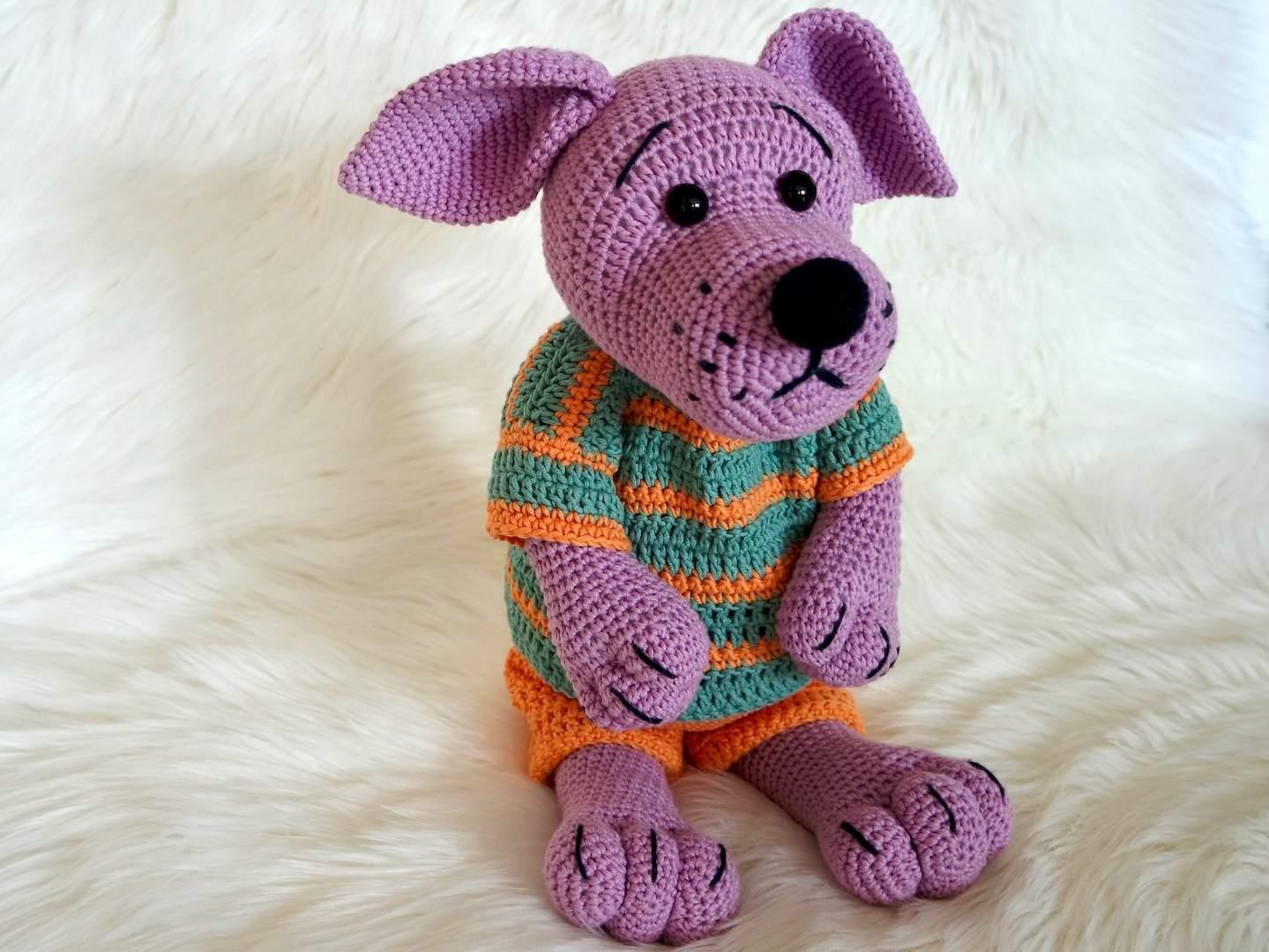 Amigurumi Anleitung Hund : Anleitung zum häkeln einer katze auch amigurumi mit schritt für