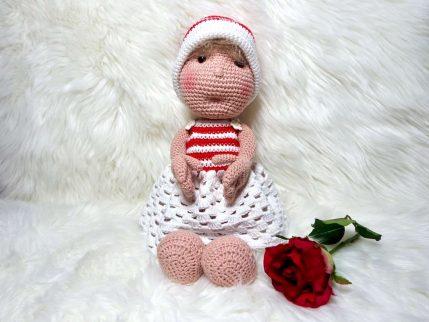 Anleitung Puppe häkeln: Lissy