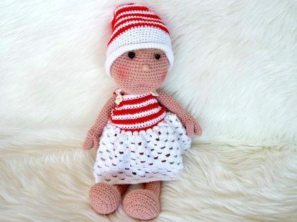 Häkelanleitung Puppe Lissy