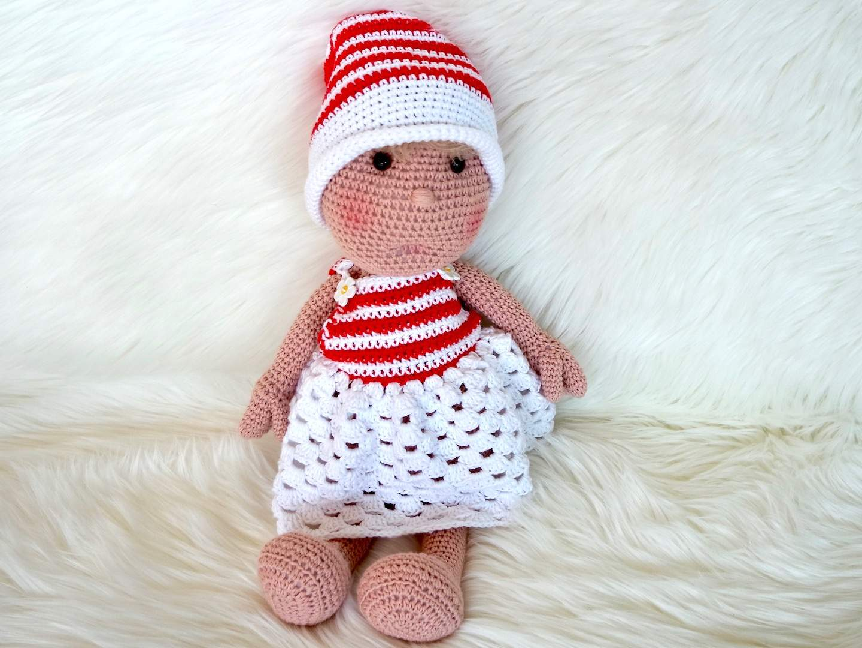 Häkelanleitung Puppe Lissy Wolligurumi
