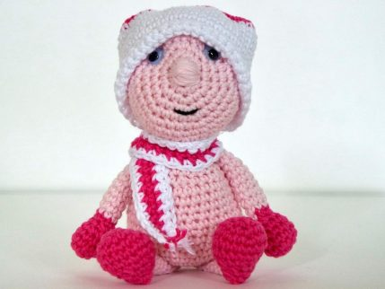 Häkelanleitung Puppe Püppi