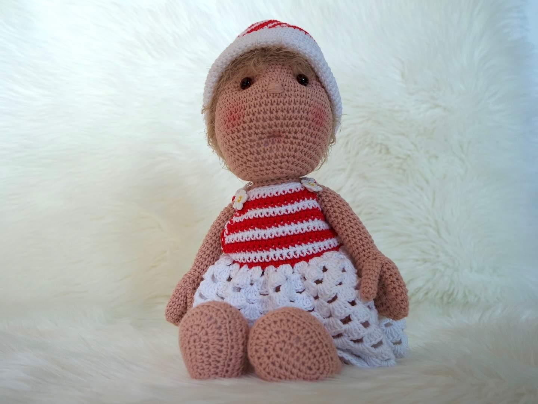 Häkelanleitung Puppe Lissy - Wolligurumi
