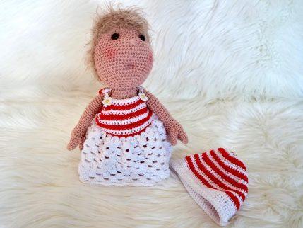 Puppe häkeln: Lissy