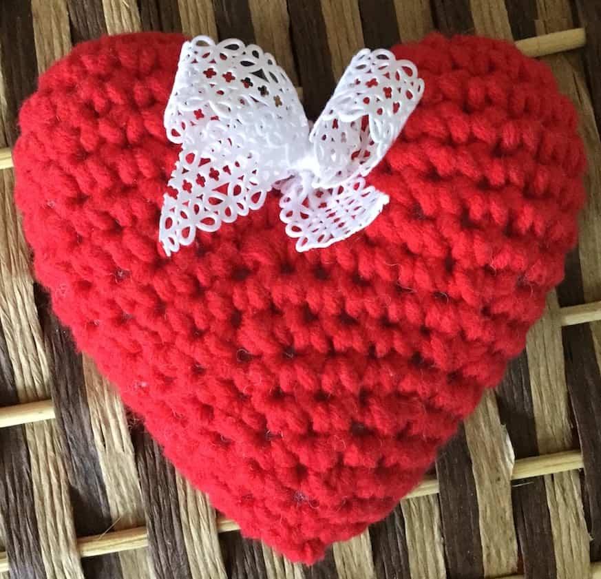 Ziemlich Rotes Herz Häkelanleitungen Fotos - Schal-Strickende Muster ...