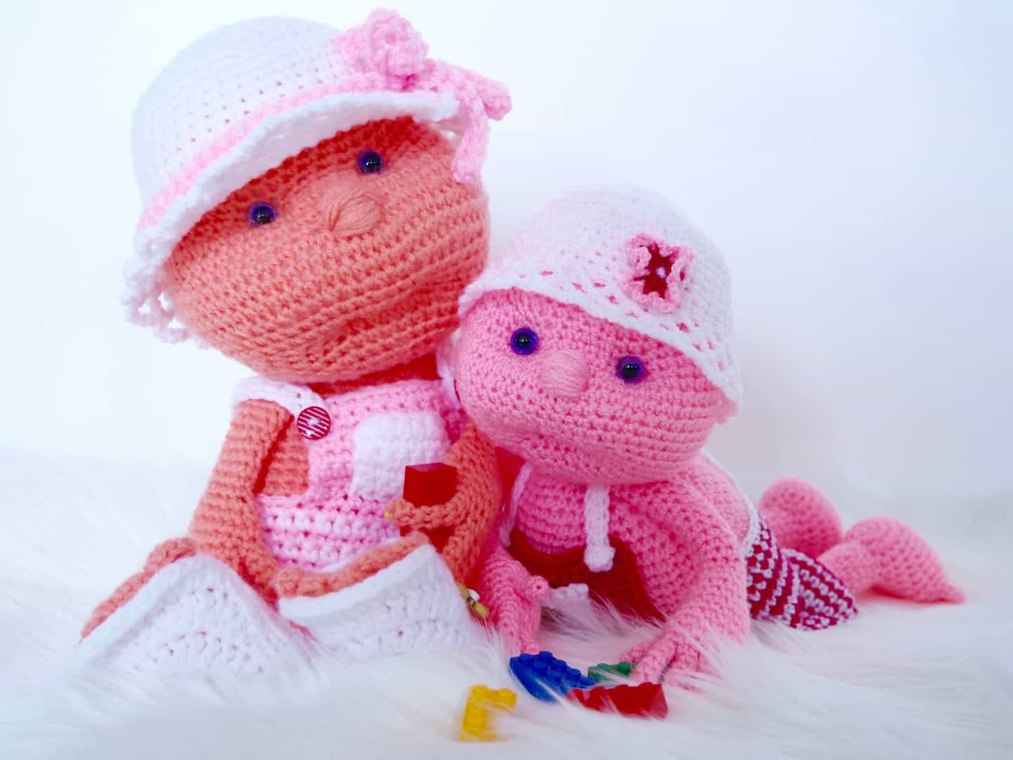 Häkeln: Anleitung Puppe Julchen