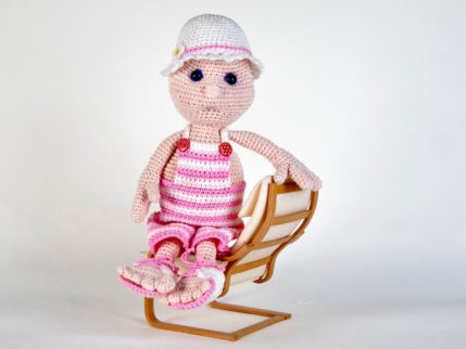 Puppe häkeln: Julchen. Anleitung