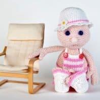 Anleitung zum Puppe Julchen häkeln