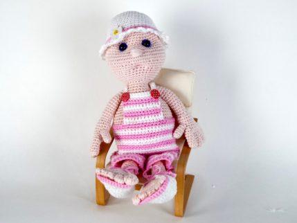 Häkelanleitung Puppe Juchen