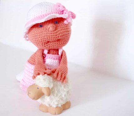 Häkelanleitung Puppe Julchen