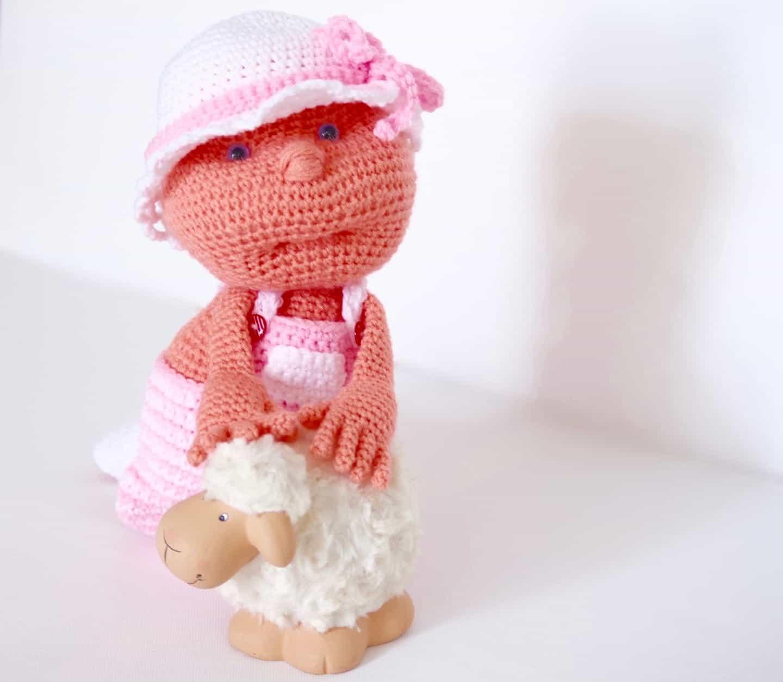 Häkelanleitung Puppe Julchen - Wolligurumi