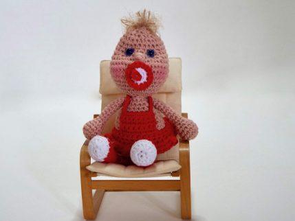 Häkelanleitung Puppe: Knirps kostenlos