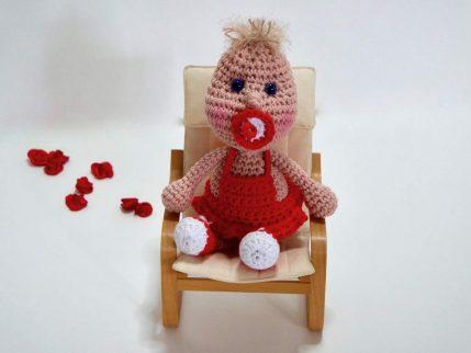 Häkeln Puppe Anleitung: Knirps kostenlos