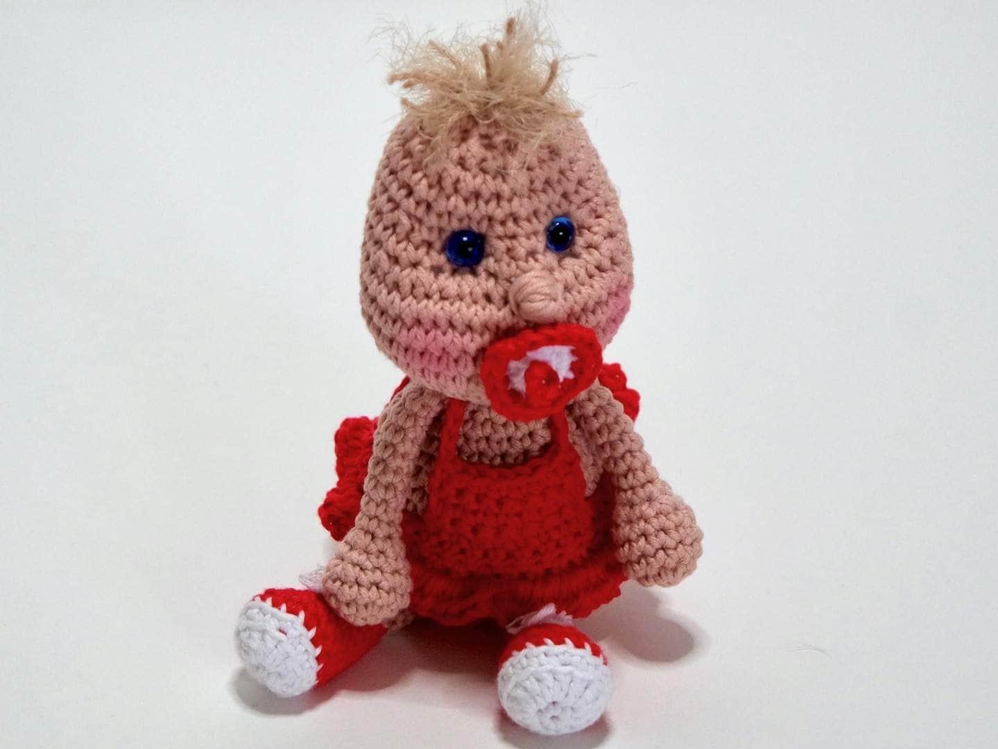 Häkelanleitung Puppe Knirps Kostenlos Wolligurumi