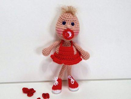 Amigurumi häkeln kostenlos: Puppe Knirps