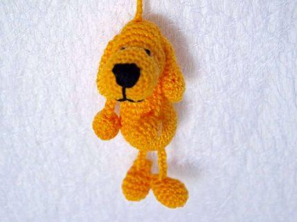 Häkelanleitung Hund Schlüsselanhänger