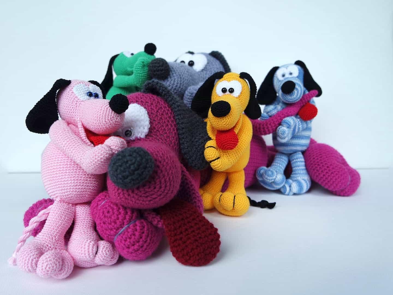 crochet pattern cuddly dog othello wolligurumi. Black Bedroom Furniture Sets. Home Design Ideas
