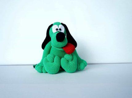 Amigurumi Häkelanleitung Hund Othello