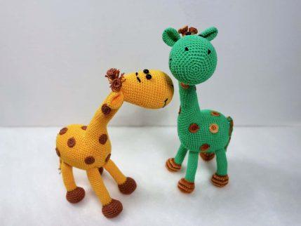Giraffe Häkelanleitung