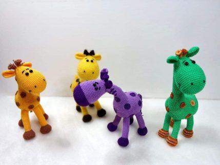Häkelanleitung Giraffe Peppi