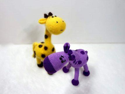 Giraffe Peppi, Tier häkeln
