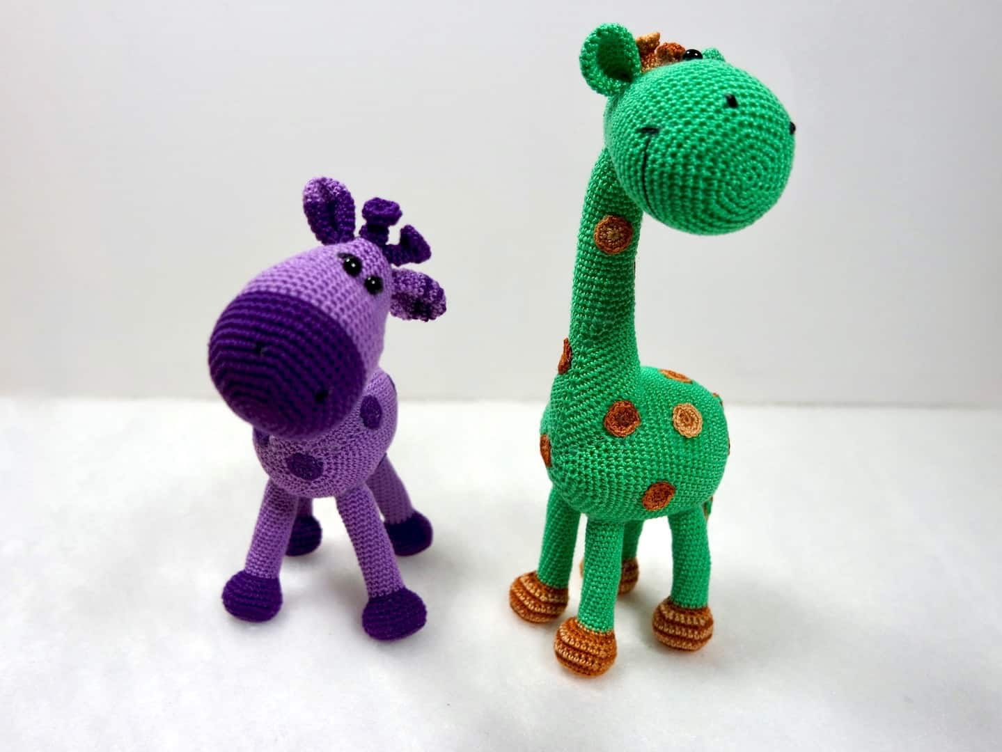 Nach Anleitung häkeln: Giraffe Peppi