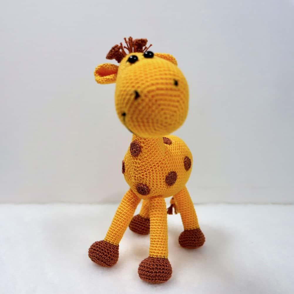 Häkelanleitung Giraffe Peppi - Wolligurumi