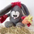 Anleitung zum Häkeln: Das Ei das ein Hase sein will