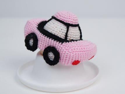 Häkelanleitung Auto Eierwärmer