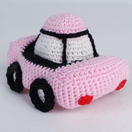 Häkeln: Ein Auto als Eierwärmer, Anleitung