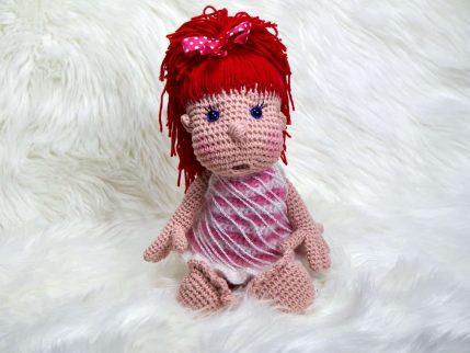 Puppe häkeln: Mimi und die Strolche