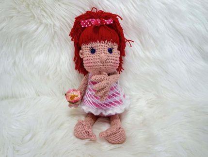 Puppe häkeln - Anleitung: Mimi und die Strolche