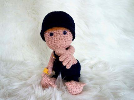 Häkelanleitung Puppe Mimi und die Strolche
