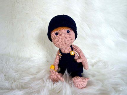 Puppe häkeln - Anleitung: Mimi und Strolche