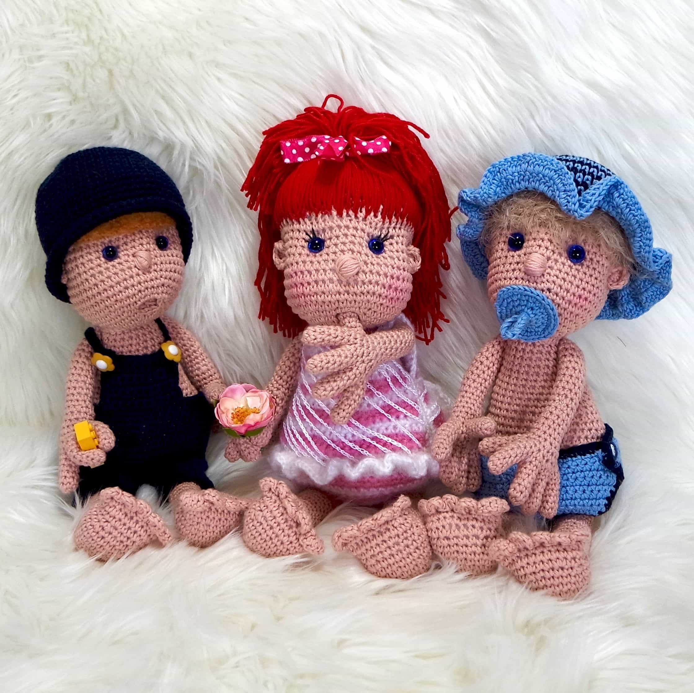 Crochet Pattern Mimi And Her Gang Wolligurumi