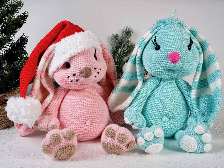 Häkelanleitung Der Weihnachtshase Wolligurumi