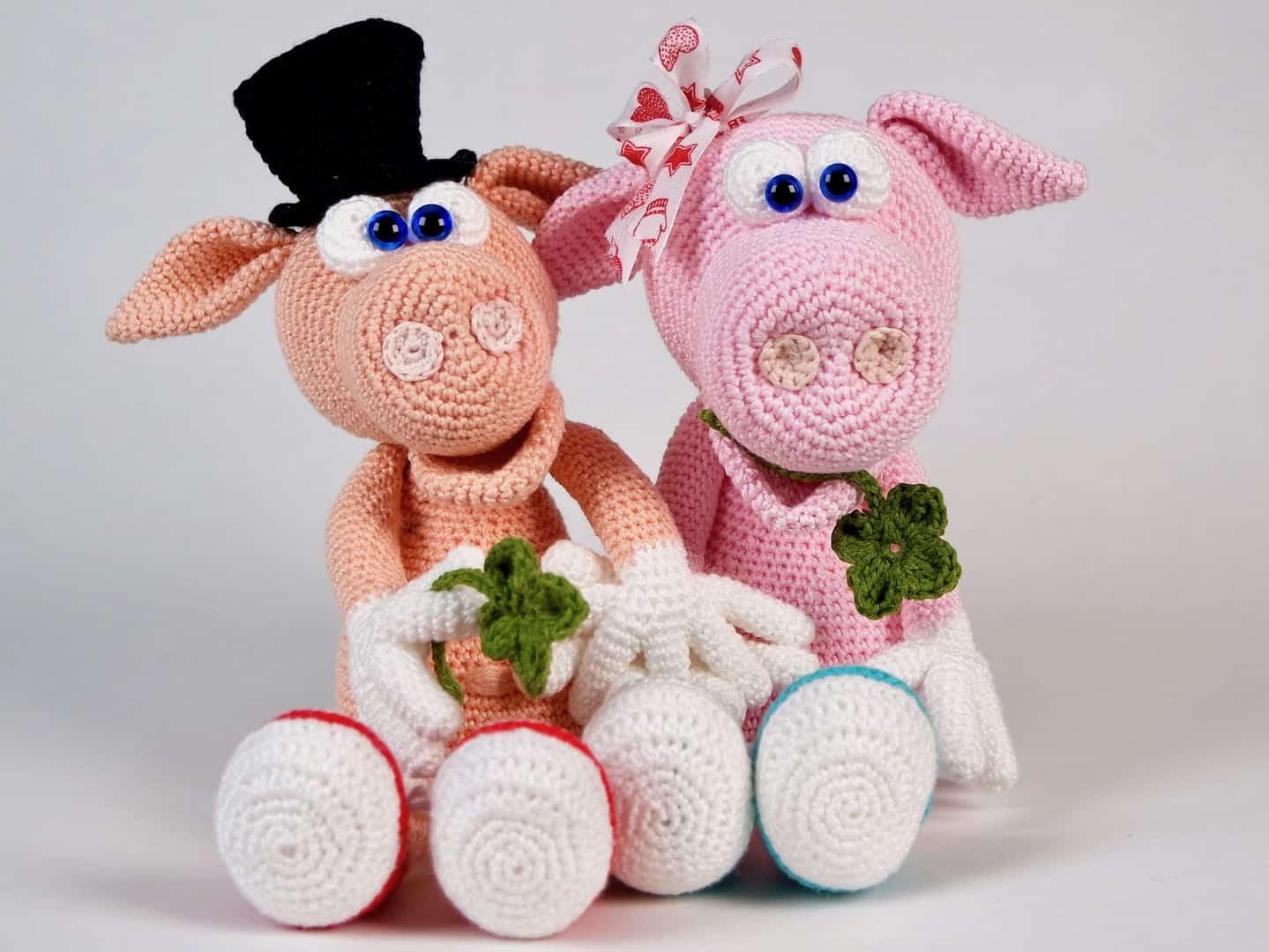 Häkelanleitung Schwein Gisbert Und Frau Gisela Wolligurumi