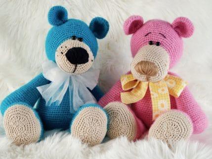 Bären häkeln: Emilio und Emilia, Anleitung