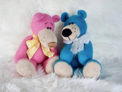 Bären Häkelanleitung Emilio und Emilia