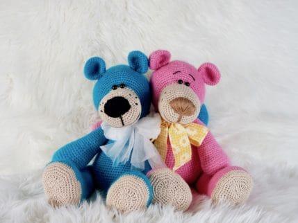 Häkelanleitung Bär: Emilia und Emilio