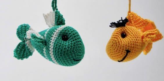 Anleitung Schlüsselanhänger Amigurumi Fisch