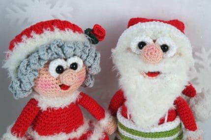 Es weihnachtet: Wilma und Werner Weihnachtsmann, Häkelanleitung