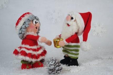 Weihnachts-Amigurumi: Wilma und Werner Weihnachten, Anleitung
