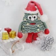 Weihnachtsbaum häkeln, Anleitung