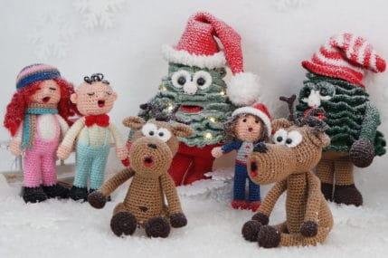 Weihnachtsbaum und die Weihnachtssänger, Häkelanleitung