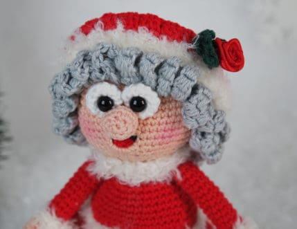 Häkeln Weihnachtsfrau Wilma, Anleitung