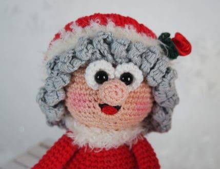 Häkelanleitung: Wilma Weihnachtsmann in Groß