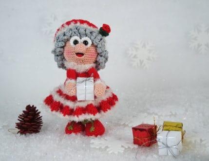 Wilma- Die Frau des Weihnachtsmannes, Häkelanleitung